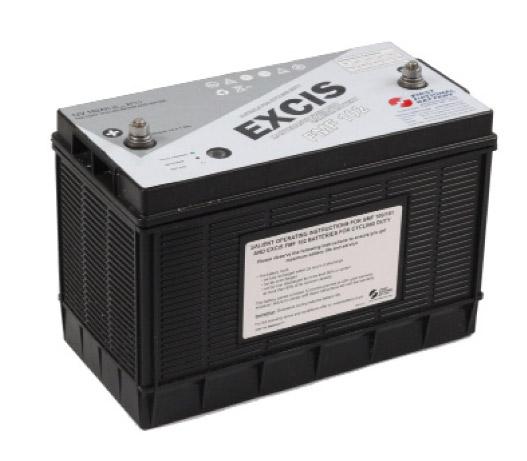 12V 102A/H Battery
