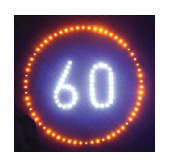 LED Speed Sign