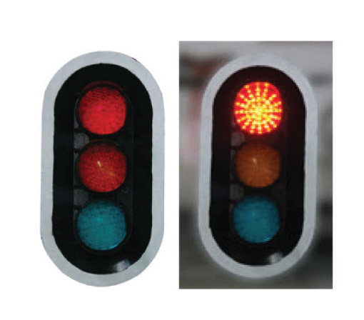 3 Aspect Traffic Light – Red/Amber/Green Robot Combination